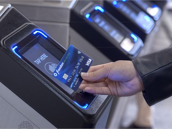 Starting May 31, New York City riders can tap to pay and ride using their Chase/VISA contactless cards at select subway stations, and on all Staten Island buses.VISA