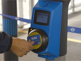If it was easier to pay for public transport, average use would increase by 27%, according to a new study.Photo: Visa