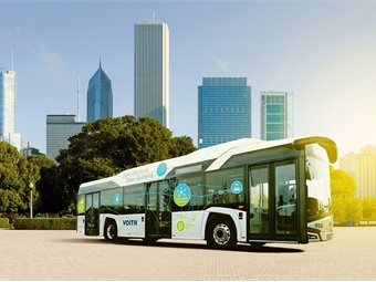 The Voith electric-drive system was originally conceptualized as a prototype for a Solaris Urbino Bus, but it can be integrated into vehicles from other manufacturers without restrictions, according to the company.