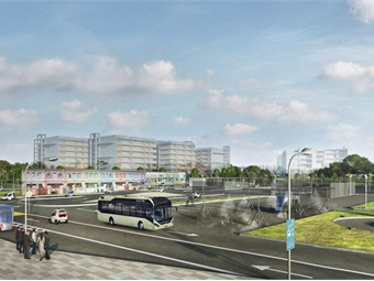 NTU and Volvo will begin testing autonomous electric passenger buses at the CETRAN test centre from 2019 and the 40-seater buses will be equipped with GPS and integrated navigation systems that will enable it to drive, park and even charge itself. (Image: JTC)