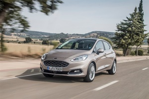 The Vredestein Quatrac 5 is standard on the new Ford Fiesta.