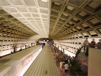 DC Metro's automatic door opening feature on its rail system was discontinued years ago — along with automatic train operations — due to reliability problems and overriding safety priorities. Photo: Larry Levine/WMATA
