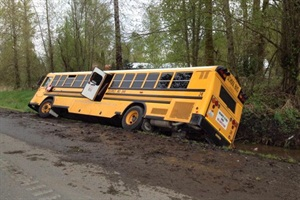 Officials said that based on the bus surveillance footage, the Washington State Patrol reopened its investigation on the school bus driver and the cause of the accident.