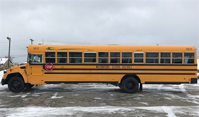 Waterford School District introduced 10 new Blue Bird Vision Propane buses into its fleet. The district joins nearly 30 others in the state that run the propane-powered buses.