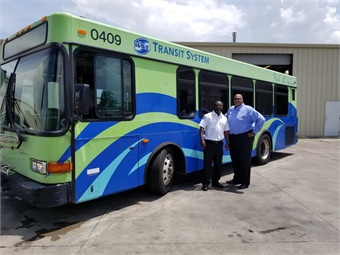 Mobile, Ala.'s Wave Transit System is comprised of 12 routes and carries more than one million passengers annually. Photo: First Transit