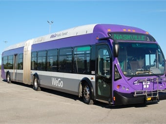 The data-connectivity from having onboard Wi-Fi will also benefit bus operations along Murfreesboro Pike, where the transit signal priority project construction is wrapping up. WeGo Public Transit