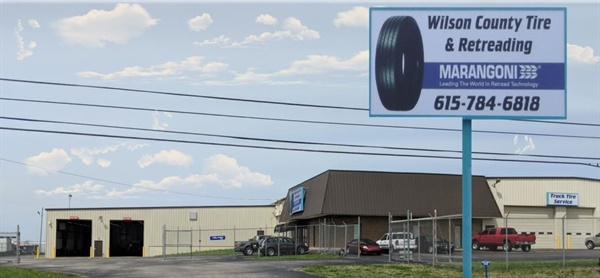 Wilson County Tire & Retreading produces Marangoni brand retread products. The plant has completed a 10,800-square-foot expansion and now totals 38,000 square feet.