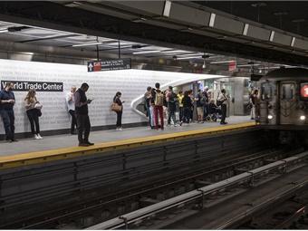 World Trade Center Cortlandt Station. Photo: NY MTA