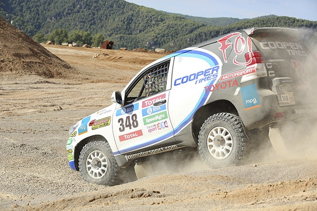 Nacho Santamaría will co-drivewith Foj, and Quim Rodón will be in charge of the mechanics during the rally.