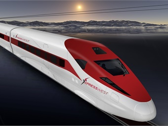 XpressWest is the high-speed rail system between Las Vegas and Southern California. Photo: XpressWest