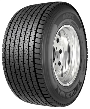 The 902L UWB tire is now available in two sizes:455/55R22.5 and445/50R22.5.