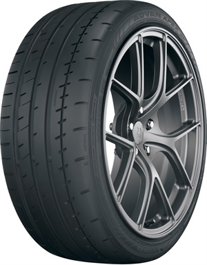 Yokohama says optimized groove angles minimize road noise in the Advan Apex UHP tire.