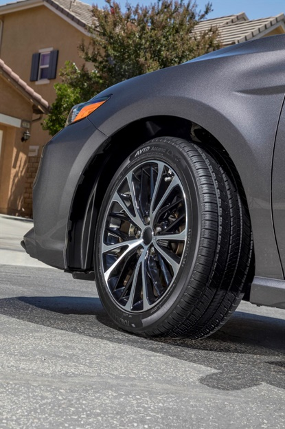 The Avid Ascend LX from Yokohama features an optimized contact area that distributes pressure to combat uneven tire wear.