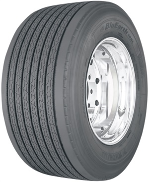 The new Yokohama BluEarth 109L ultra wide-base tire is available in size 445/50R22.5.
