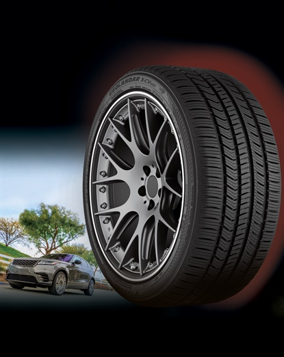 The Geolandar X-CV comes in 23 sizes and is designed for luxury SUV and CUV fitments.