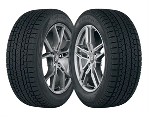 Yokohama's new iceGuard G53 (left) is designed for passenger cars and minivans while the iceGuard G075 is for crossovers and SUVs. Fuel efficiency gains for both tires come from the newly developed, low-heat generating under tread compound, which increases stiffness and contributes to low rolling resistance.