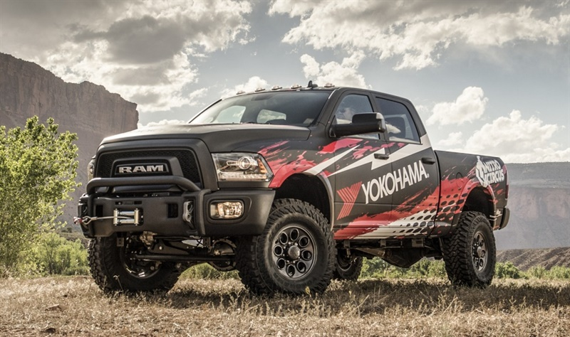 Yokohama is partnering with Nitro Circus to give away a 2017 Ram truck equuipped with new Geolandar M/T G003 mud-terrain tires.