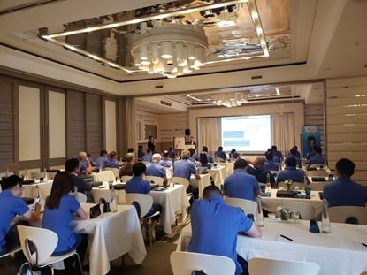 ZC Rubber hosted 50 African tire dealers and partners for a one-day business meeting June 19.