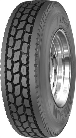 The SmartWay-verified Arisun AD759 is made with a low-rolling resistance compound to improve fuel economy.