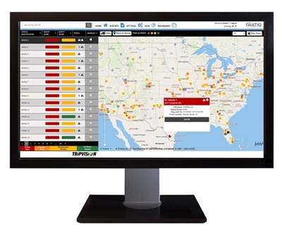 The fleet management technology supplier has also launched Zonar FaultIQ, powered by vehicle data solutions provider Noregon. Photo courtesy Zonar