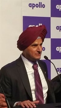"""This facility will help us further increase our presence and market share in Europe,"" said Apollo's Onkar S Kanwar."
