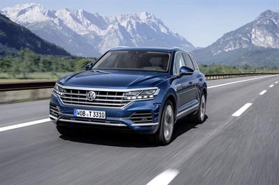 The new Volkswagen Touareg is Volkswagen's flagship SUV.