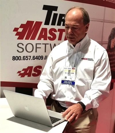 """We reinvent ourselves over and over again,"" said Dave Vogel, executive vice president of ASA and president of TireMaster, the company's flagship software."