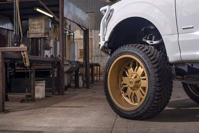 """""""The primary difference in our X/T and A/T is the increased void ratio and tread depth,"""" says Atturo's Michael Mathis. """"The inverse is true from the M/T to X/T."""""""