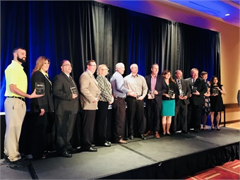 METRO honored seven bus operations and their supplier partners for implementing a new initiative that helped them improve training, save money, run more efficiently, streamline operations, or improve safety.