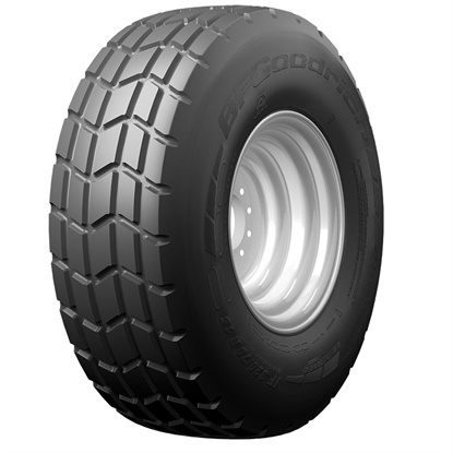 In an internal test, Michelin says the BFGoodrich Implement Control tire outlasted the market leader, which failed at 315 hours. The new BFGoodrich tire surpassed 400 hours of use with no failures.