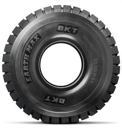 BKT is manufacturing the Earthmax SR 46 in a new size: 33.00 R 51.