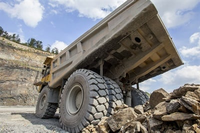 """BKT's Pompo's says demand for 25-inch OTR tire sizes was strong in 2018, while midsize (1800-33 through 2700-49) tire demand was """"very strong."""""""