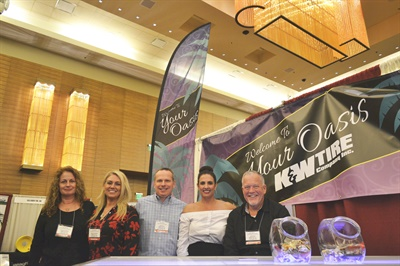 Jeff Short (center, at the NETSA Trade Show in 2017) sent out a must-read press release on 4/01/18.