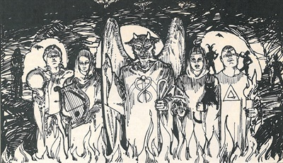 This art appeared with our August 1979 write-up of NTDRA's party invite. I believe it was sent out with the invitation.