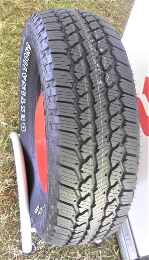 Bridgestone backs the A/T2 with a 55,000-mile limited tread wear warranty.