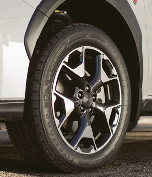 The Firestone WeatherGrip is designed to give confidence to drivers year-round.