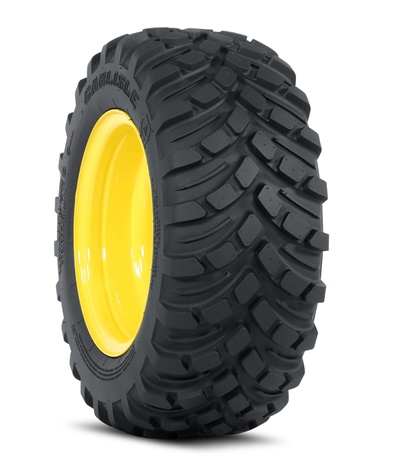 New Carlisle Versa Turf tires from Carlstar come in sizes 18x8.50R10 (6L09621) and 26x12R12 (6L0915) and will be available to order in November.