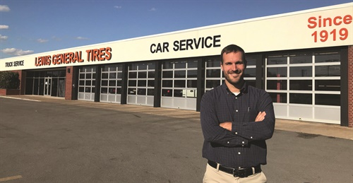 """Our primary focus in regard to the internet is visibility,"" says Craig Lewis. ""We work very closely with an online reputation management firm to make sure when the public starts their search for tires or automotive service that they find us on page one, and that they are able to see feedback from our existing customers."""