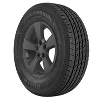 The Delta Sierradial HT Plus is one of four new light truck tires introduced by TBC Brands.