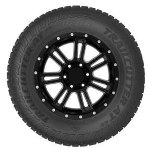 Delta Trailcutter AT4S tires are available in 40 metric and LT sizes with rims ranging from 15-inch to 20 inch.