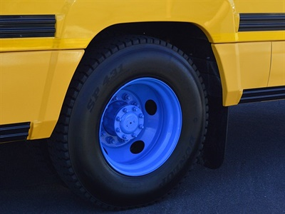 The eLion is wider than average, at 102 inches, and also features a wider wheel well.