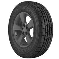 The Eldorado HTX Sport is an all-season tire for light truck fitments.