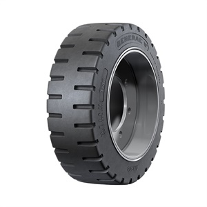 The General Tire Trac features a gripping edge. It's available in six sizes.