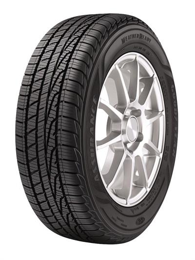 The new Goodyear Assurance WeatherReady is backed by a 60,000-mile limited tread wear warranty.
