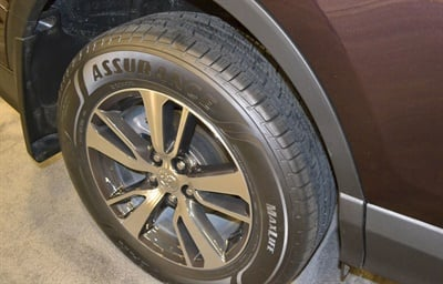 The new Goodyear Assurance MaxLife is backed by an 85,000-mile limited tread wear warranty.