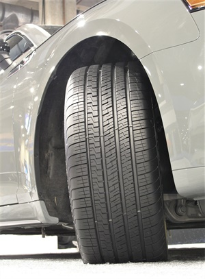Goodyear is marketing its new Eagle Exhilarate as a UHP all-season tire. It will be available in 36 W- or Y-rated sizes.