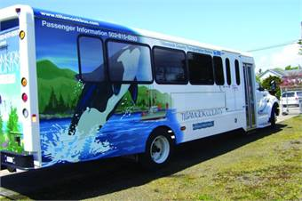 The aim of Gillespie Graphics in designing large bus and train decals and wraps is often to develop a unified appearance for community transit systems, thus creating a recognizable and eye-catching presence that passengers will become familiar with.