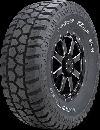 Hercules is adding six sizes, including four 20-inch fitments, to the Terra Trac T/G Max tire.