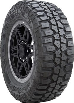 The newest 37-inch Terra Trac M/T tires are among the fivetires designed for 20-inch wheels.