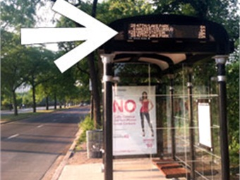 Chicago Transit installs first bus tracker displays across